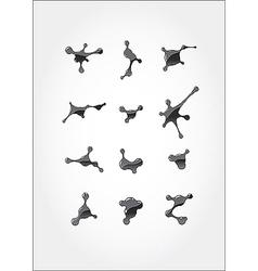blots 02 vector image