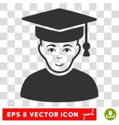 Professor EPS Icon vector image