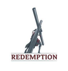 redemption vector image