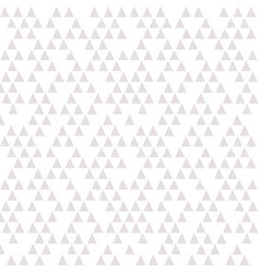seamless triangles background pattern in stone vector image