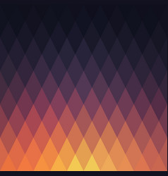 sunset abstract geometric background vector image