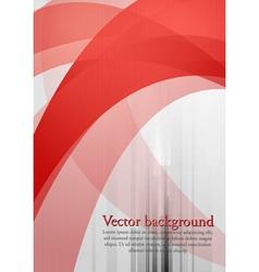Wavy tech background vector image