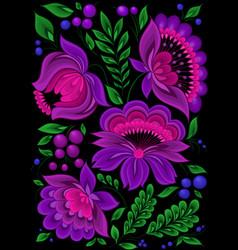 backgrounds flower pattern floral vector image vector image