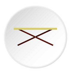 Shopping counter icon circle vector