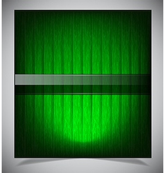 Abstract green wood background vector image