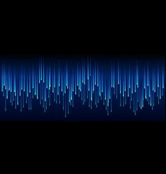 dark blue technology sci-fi abstract matrix vector image