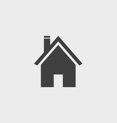 house building home icon vector image