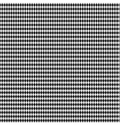 Monochrome repeatable pattern with rhombus vector