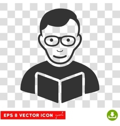 Reader EPS Icon vector image