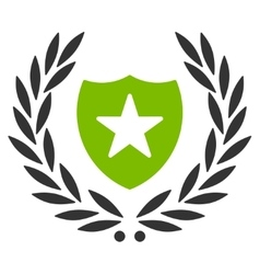 Shield icon from Competition Success Bicolor vector