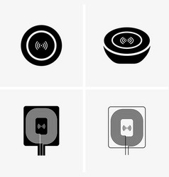 Wireless charger vector