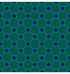 Peacock Polka dot Chess Board Background vector image vector image