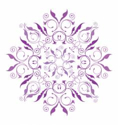 classical floral pattern vector image vector image