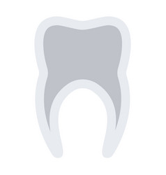 tooth icon vector image