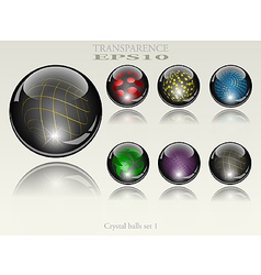 orb collection vector image