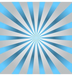 Blue rays gray poster star burst vector