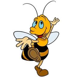 Dancing Bumblebee vector image