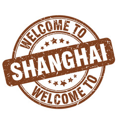 Welcome to shanghai vector