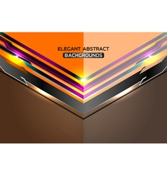 Modern abstract template background vector