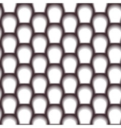abstract scales seamless background White and vector image vector image