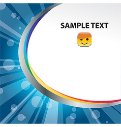 template 08 vector image vector image