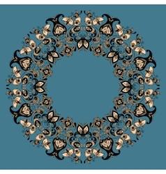 Ethnic mandala vector image vector image