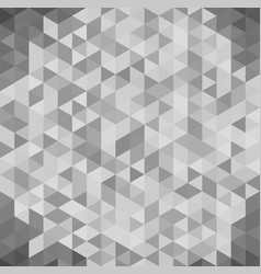 3d abstract geometric white and gray triangle vector image