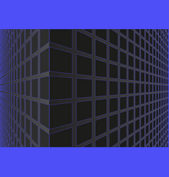 3d background geometrical shapes with perspective vector image