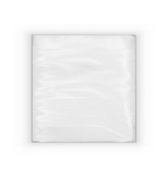 A pack of realistic pocket paper napkins vector