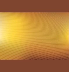 abstract gold and yellow mesh gradient with curve vector image