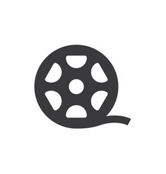 big film roll icon vector image