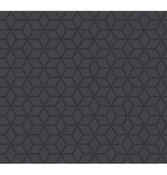 Dark stars orient 3d seamless pattern vector
