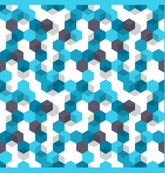 Honeycomb background seamless pattern of vector