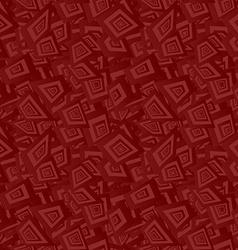 Maroon seamless irregular rectangle background vector