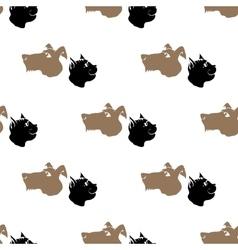 Dog Cat Seamless Animal Pattern vector image vector image