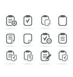 File an icon vector