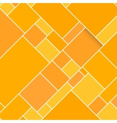 Orange Rectangular Structured Background vector image