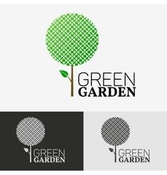 Tree Eco logo concept vector image vector image