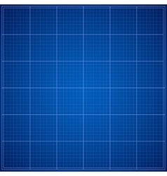 Blue Blueprint background vector image
