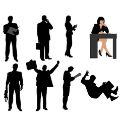 Business persons vector image