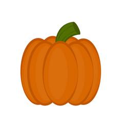 colored halloween pumpkin icon vector image