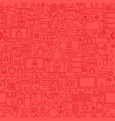 Hacker line tile pattern vector
