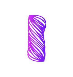 I-letter-logo-design vector