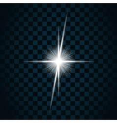 Sparkle light star 9 vector
