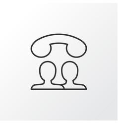 Speaking people icon symbol premium quality vector