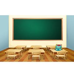 Classroom vector image
