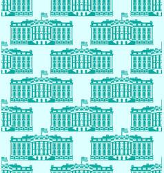 white house america seamless pattern us president vector image
