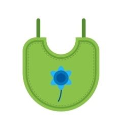 Bib Child vector image vector image