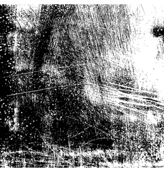 Grunge Scratched Texture vector image