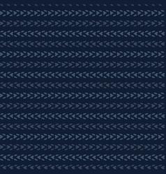 Abstract indigo blue dye lines pattern seamless vector